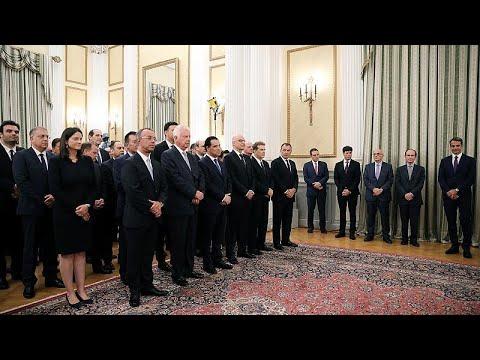 LIVE | Ελλάδα: Ορκίστηκε η κυβέρνηση Κυρ. Μητσοτάκη