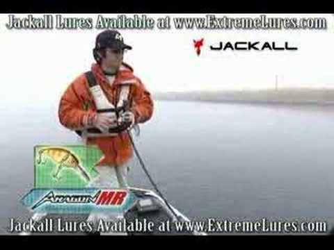 Jackall Aragon Crankbait Bass Fishing Lure Demo