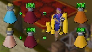 Making NEW Potions For Awesome Profit (Bastion  Battlemage) OSRS