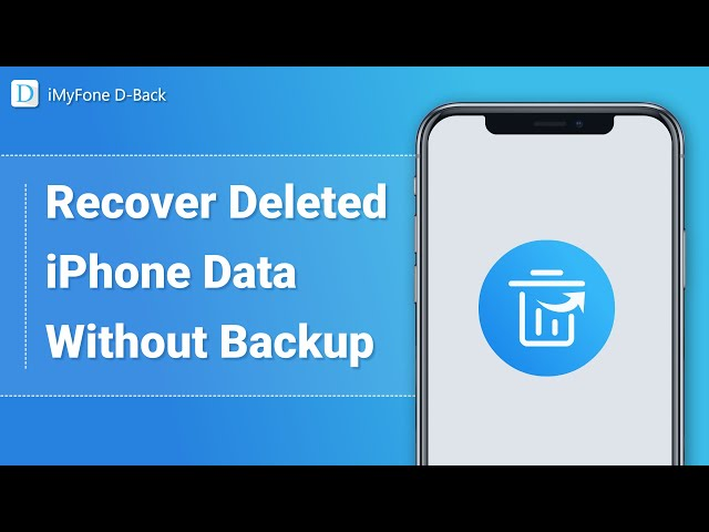 How to Recover Lost iPhone Data without Backup