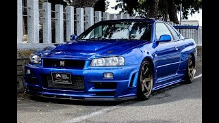 Nissan GTR R34 for sale JDM EXPO (1984, s8017)