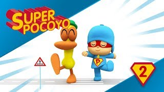 Super Pocoyo teaches road safety to children