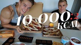 10 000 KCAL Tunnissa   Miehet vs. Herkut