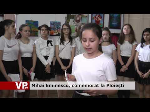 Mihai Eminescu, comemorat la Ploiești