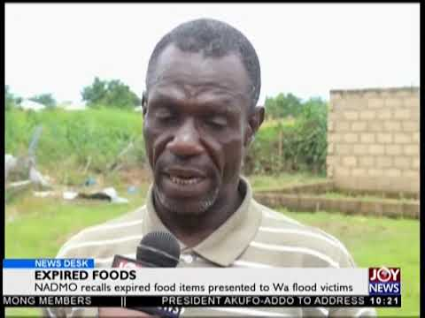 Expired Foods - News Desk on JoyNews (26-9-18)