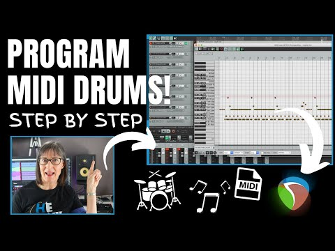 How To Program A Drum Track Using MIDI In Reaper DAW Recording Software