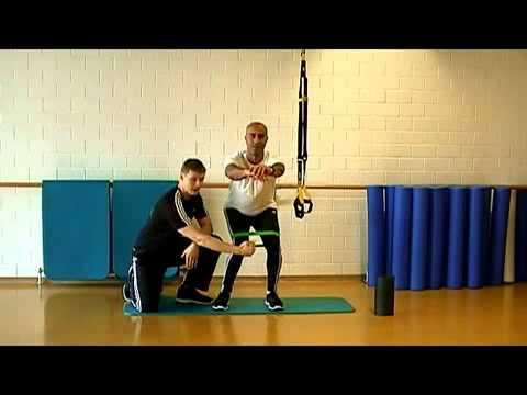 Übungen für Fuß- und Kniegelenk