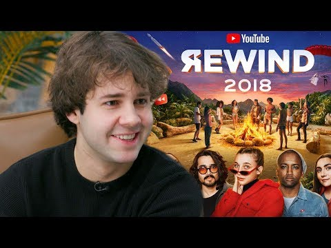 David Dobrik Reveals Why He Wasn't In YouTube Rewind 2018 (видео)