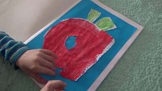 3 Year Old Starts His Alphabet Craft Book