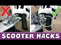 4 Scooter Life Hacks