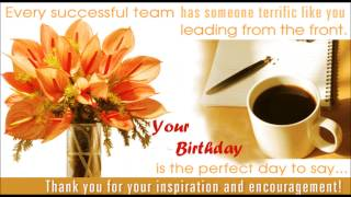 Happy birthday Boss, Birthday wishes, SMS, Quotes, message, E-greetings to Boss