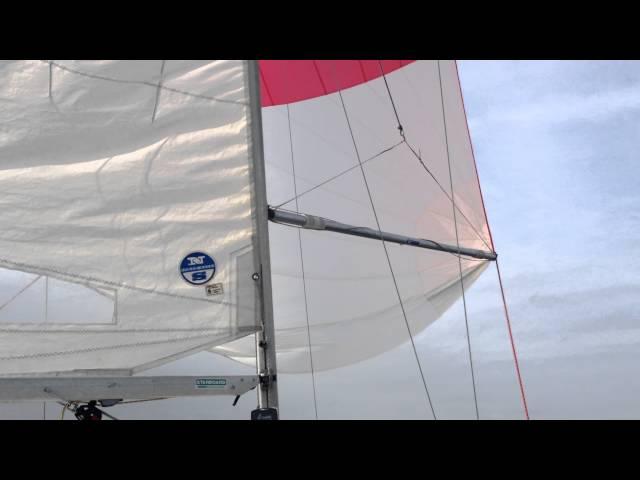 J/22 Singlehanded sailing