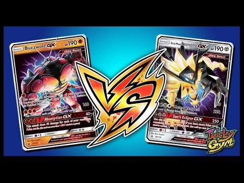 Buzzwole GX / Garbodor vs Dusk Mane Necrozma GX / Metagross – Pokemon TCG Online Gameplay