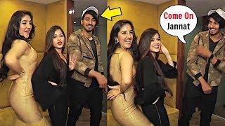 Jannat Zubair Dance With Faisu At Ashnoor Kaur New Song