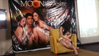 "MEG IMPERIAL  for ""Moon of Desire"" #PressCon"