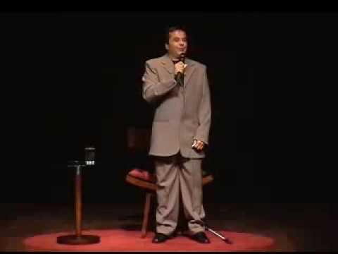 Eu vi muito nessa apresentação do piadista Geraldo Magela