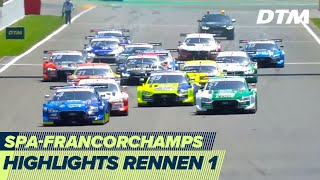 Highlights Rennen 1 | DTM Spa-Francorchamps 2020