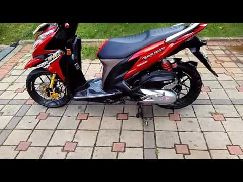 Video modif standar , simple vario 125 lawas