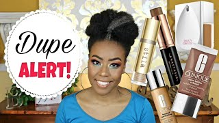 Drugstore Foundation Dupes?🤔 Duping My High End Foundations Pt.2