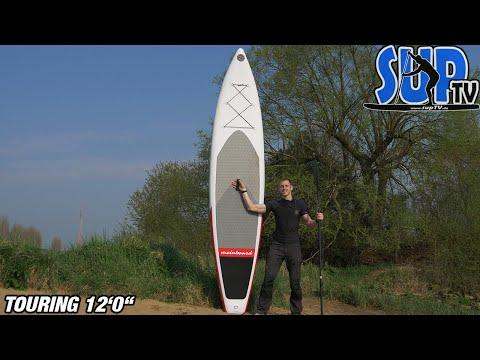 """meinboard Touring 12'0"""" (2019): Vorstellung des iSUP mit dem hochwertigen Zubehör"""