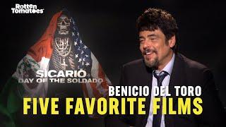 Five Favorite Films: Benicio Del Toro | Rotten Tomatoes