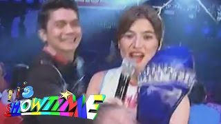 Anne's Slippers Were Hid By Vhong