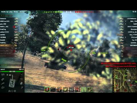 AMX 12t - хороший засвет