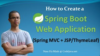 How to Create a Spring Boot Web Application