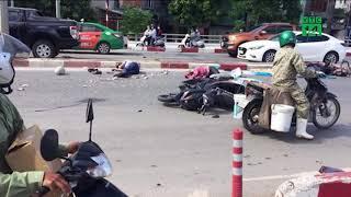 Xe khách gây tai nạn kinh hoàng ở Quảng Ninh do nổ lốp?| VTC14