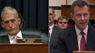 Watch Peter Strzok's fiery response to Rep. Trey Gowdy