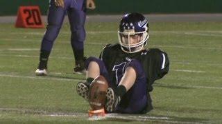 Teen aiming for NFL lacks key body parts