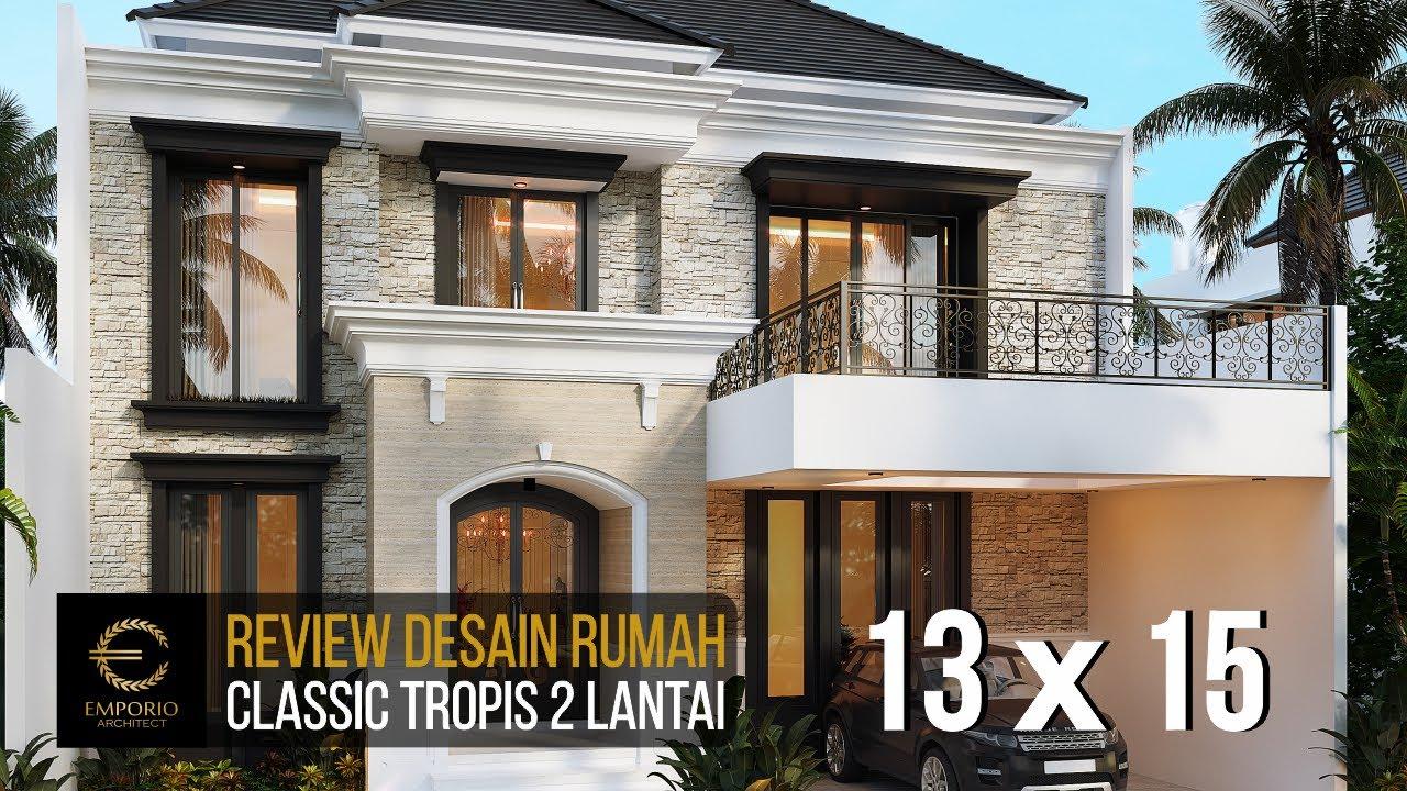 Video 3D Mr. Borsin Classic House 2 Floors Design - Tangerang, Banten