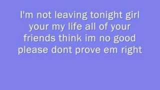 Ne-yo ft Jennifer Hudson - Leaving Tonight  with lyrics