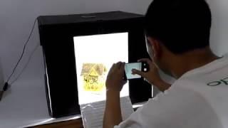 MAGICBOX MMS60 LED Portable Mini Photo Studio Light Box Lipat
