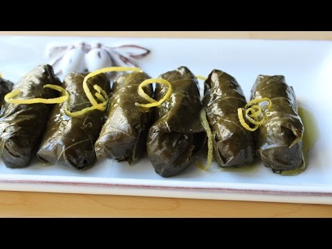 Lamb & Rice Stuffed Grape Leaves – How to Make Dolmas
