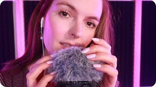 ASMR Repeating 'I Love You'  + Face Touching + Fluffy Windshield