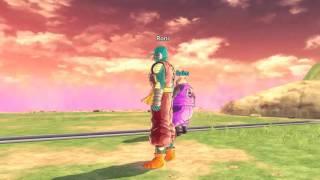 DRAGON BALL XENOVERSE 2 PC GAME casa Majin Boo conhecendo a missão, luta dificil contra três