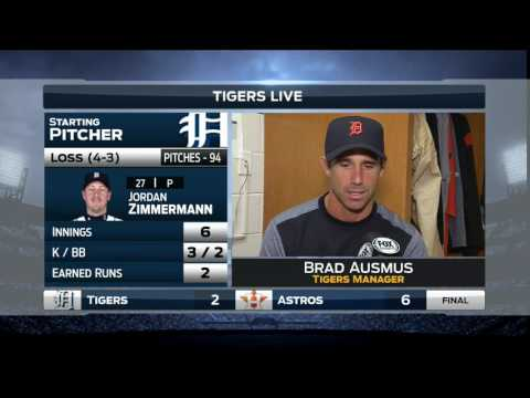 #Tigers LIVE Postgame - Brad Ausmus - 5.23.17