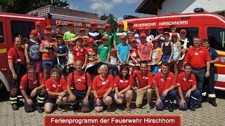 preview picture of video 'Ferienprogramm 2014 der Feuerwehr Hirschhorn'