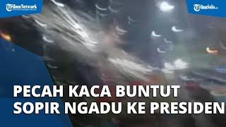 Buntut Sopir Ngadu ke Presiden, Preman Tanjung Priok Pecahkan Kaca Truk-truk yang Melintas