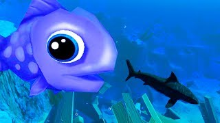 GOLIATH GUPPY THAT HUNTS AND EATS SHARKS? - Feed and Grow Fish Update Gameplay