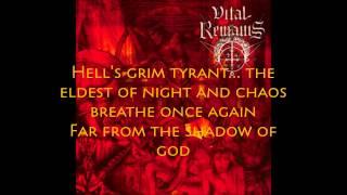 Vital Remains - Dechristianize w/ lyrics on screen