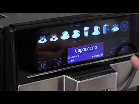 Siemens EQ.6 plus: Tägliche Reinigung des Kaffeevollautomaten