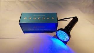 ACETEK 100 Ultraviolet LED Flashlight