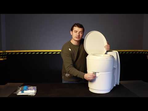 Karavanda Kasetli Tuvalet Thetford C223-CS 12V Caravan Casette Toilet