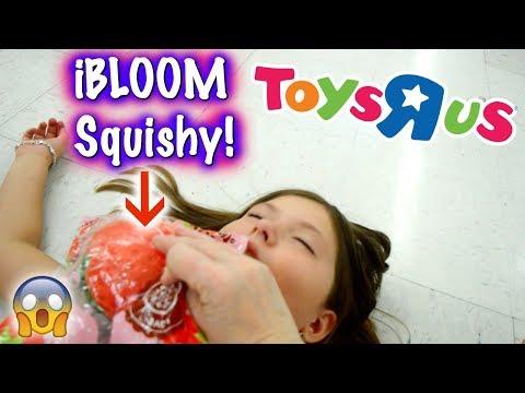 OMG! REAL SQUISHIES AT TOYS R US!!! SHE FAINTED! ~ Squishy Hunting Vlog/Skit | Sedona Fun Kids TV
