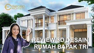 Video Desain Rumah Classic 2 Lantai Bapak Tri di  Bekasi, Jawa Barat