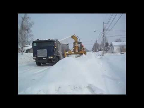 RPM LM220 Loader Mounted Snow Blower
