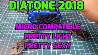 Diatone 2018 GT-M200 Frame // Overview // Quadcopter Frame