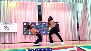 AMMA Twins Dance To Afro B (Melanin)